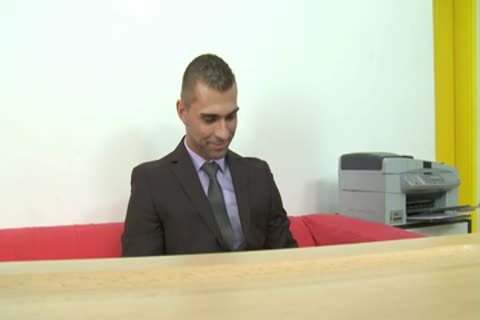 Job Interview (Straight nailed And sperm Face)