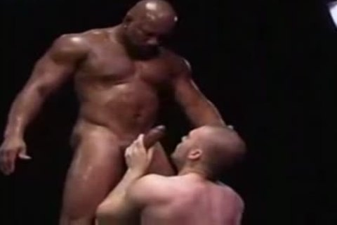 beefy Interracial homosexuals delicious Sex