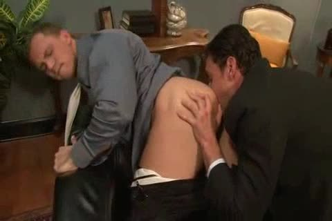 plowing His arse Back At The Office