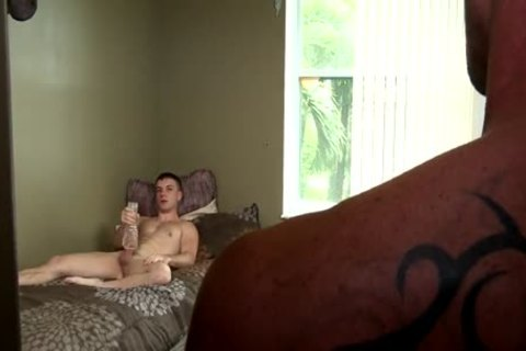 jerking off stud Caught And plowed