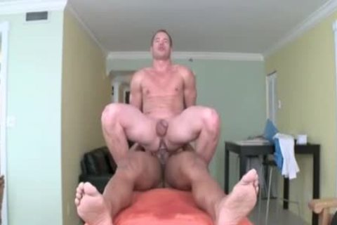 gay butthole For Hunks eager For butthole During The Massage Session