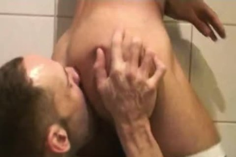 Insatiable Bottom Alejandro Alvarez Is Back For one more ass nailing, This Time By The Curved 10-Pounder Of Top-guy Joe Bexter.