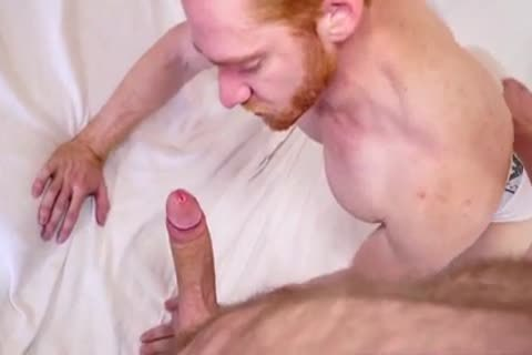 Ginger lad likes Being plowed