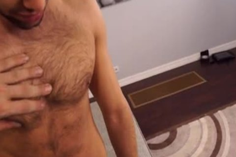 Shawn Abir Makes His homo Porn Debut With The help Of Austin Wolf
