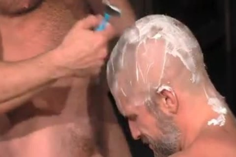 Muscle Blokes shaved oral