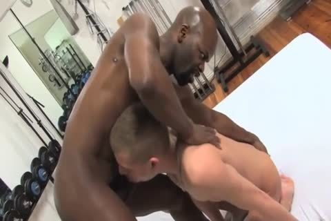 White Sissy boy acquires black cock In His butthole vagina