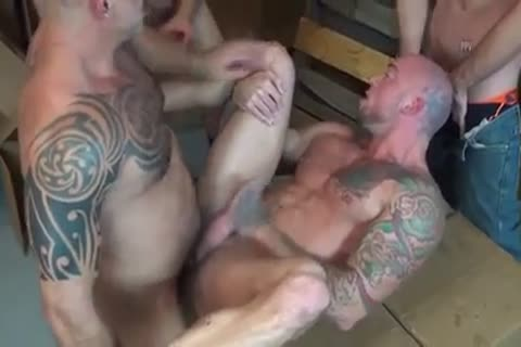 Sean Duran GoGo group-sex homo Sex