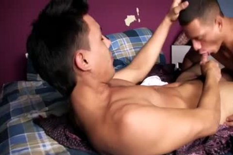 he sucks Him And Then Rides Him On The bed