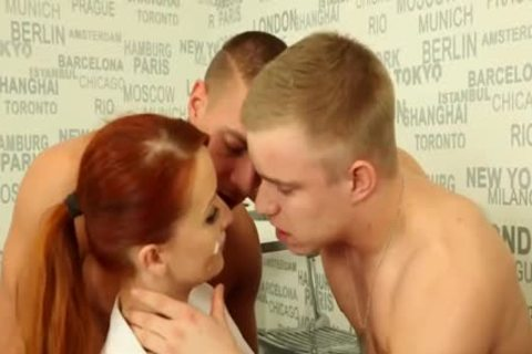 charming bisexual twinks plowing With A Redhead