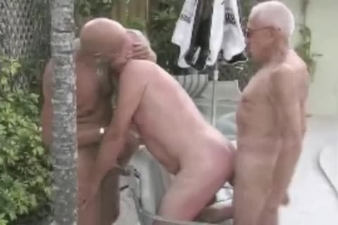 grandpa nail threesome