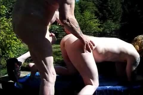 young Redhead raw With grandad