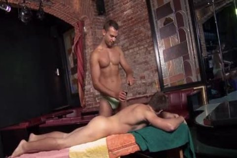 enormous cock Daddy a bit of ass With Facial