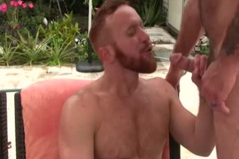 concupiscent hairy daddy plows Ginger Sun - spooge spooge spooge