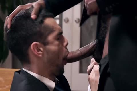 Giving Your black Boss A oral sex stimulation And Getting Barebacked