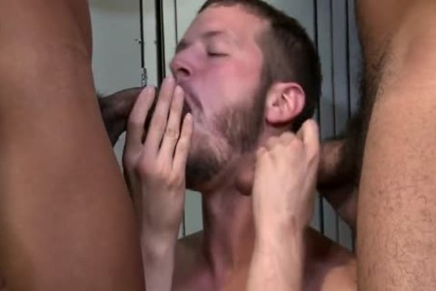 Shorts-Competitive large dongs ? Trey Turner, Jay Alexander & Asher D