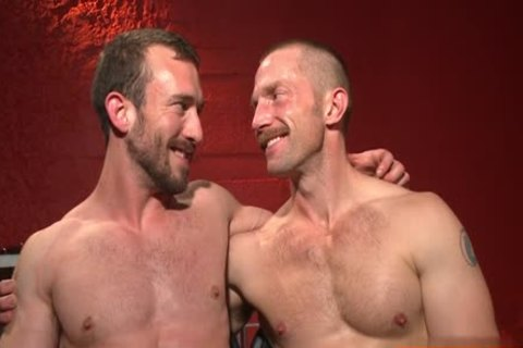 Muscle homosexual bound With Facial