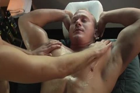 Muscle homosexual oral stimulation And Massage