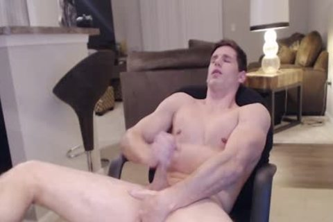 Adonis Summoning Flirt4Free - Straight Ripped Hunk Fingers His butthole