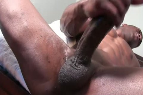 large darksome cock Solo JO