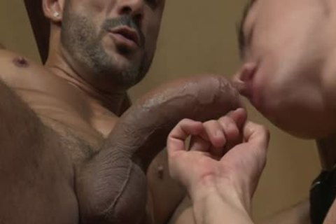 Muscle homo Flip Flop And sperm flow