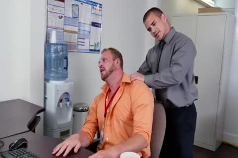 Muscle homosexual oral stimulation job And Facial