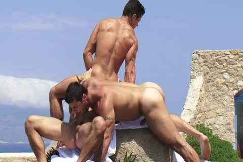 Trenton Ducati three-some With Adam Killian And Alex Marte