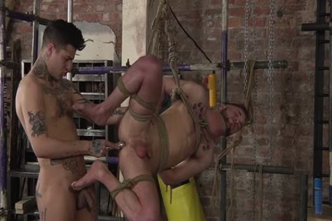 young gay Koby Lewis fastened And pounded Hard By Mickey Taylor