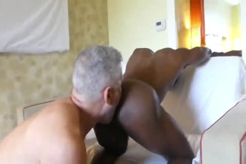 Hung White dad taut dark wazoo