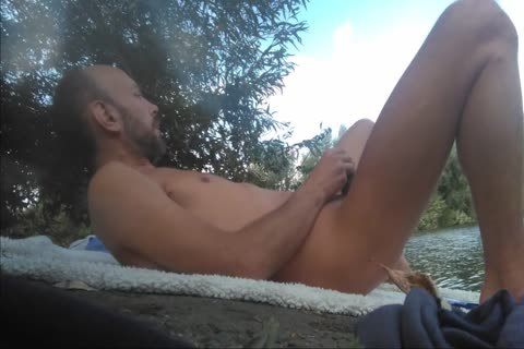 Full clip With Xavier Desmadryl Masturbating outside.