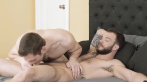 Polyamor-butt - Cliff Jensen with Griffin Barrows butthole Love