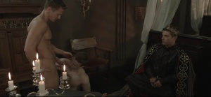 gay Of Thrones - Johnny Rapid with Gabriel Cross butthole Nail
