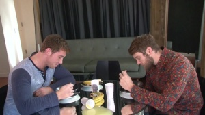 Look What The boyz Dragged In - Colby Keller with Connor Maguire arse fuck