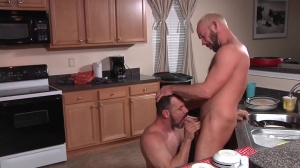 The Straight fellow - Mike Tanner with Max Sargent butthole sex
