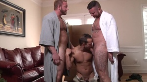 My Two Daddies - Charlie Harding & Luke Adams butthole Hook up