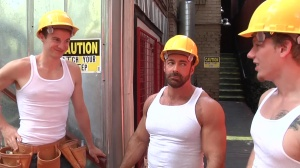 Daddy's Workplace - Johnny Forza with Matthew Ryder butthole hammer