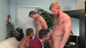 Swingers - Cameron Foster with Bennett Anthony wazoo nail
