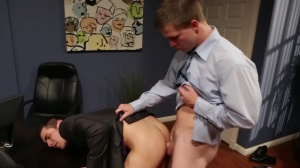 Employee Of The Month - Jimmy Johnson & Lance Luciano ass Hump