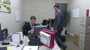 The Office prostitute 2 - Mike De Marko and Jimmy Johnson anal sex