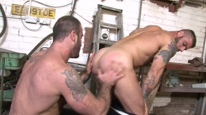 Late For Work - Spencer Reed, Alex Marte butthole Hump