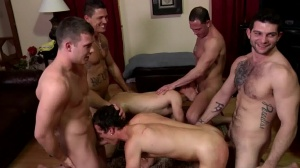 Disqualified - Sebastian young and Hayden Richards butthole poke
