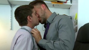 Odd Assignments - Aj Monroe and Preston steel butthole Nail
