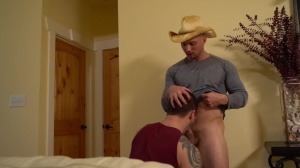The Ranch Hand - John Magnum with Allen Lucas butthole bang