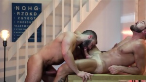 Mind Blown - Diego Reyes and Logan Moore anal slam