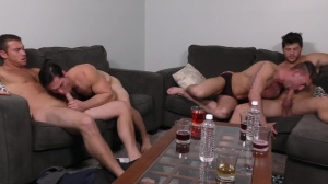 daddy group - Connor Maguire with Ashton McKay ass sex
