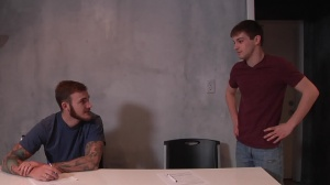 First Time Bottom - Christian Wilde, Joey Carter butthole Nail