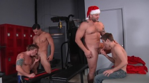 XXXMas - Johnny Rapid with Colby Jansen ass slam