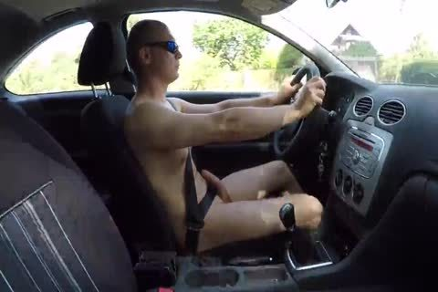 Drive nude And Masturbation Outdoor