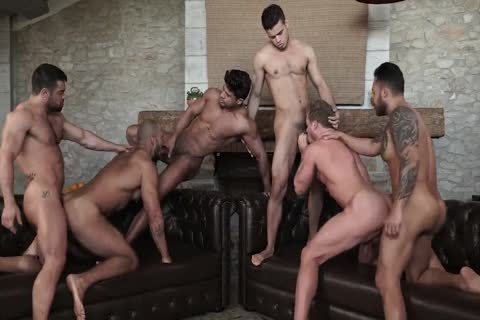 Sex-Party - Six fellows Have joy
