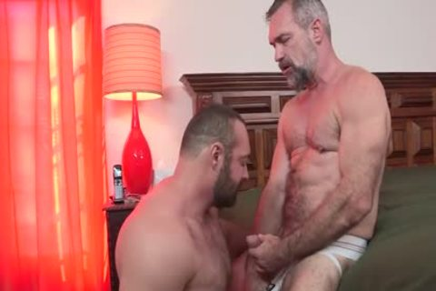 HotOlderMale - powerful BEAR BRAD KALVO plows yummy DADDY PETER rough