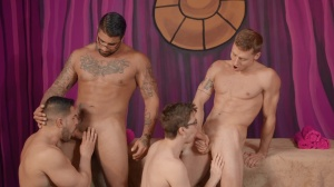 dudes bunch-sex - Ryan bones with Justin Matthews wazoo nail